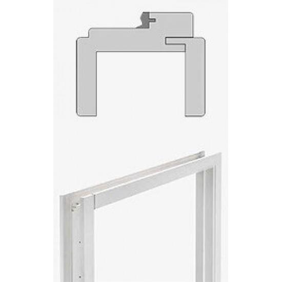 RenoV8 Ecosy kozijn 70mm dubbele deuren (wit) COMPLETE SET