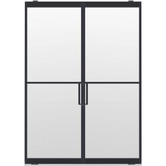 Industriële deurstel taats indu2 zwart