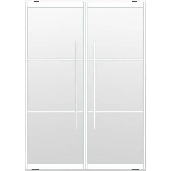 Industriële deurstel taats indu3 wit