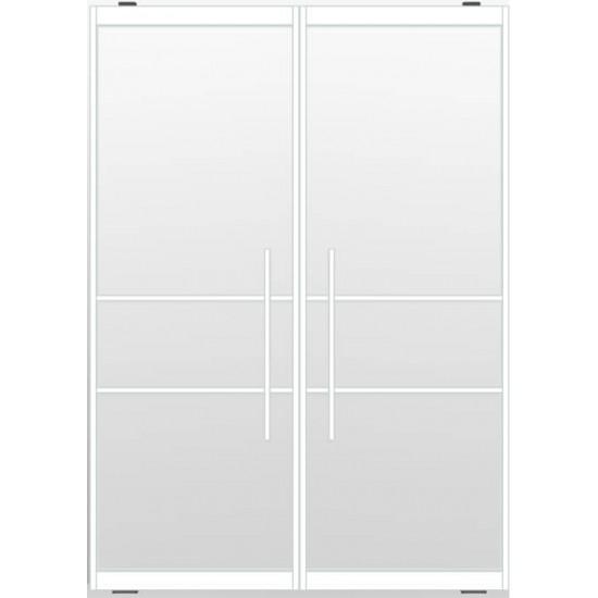 Industriële deurstel taats indu3a wit