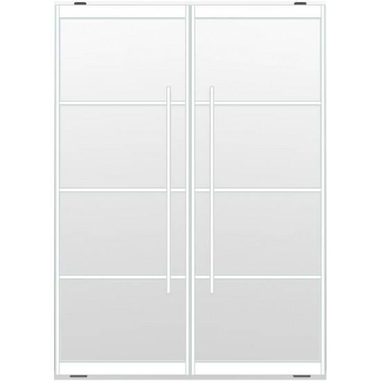 Industriële deurstel taats indu4 wit