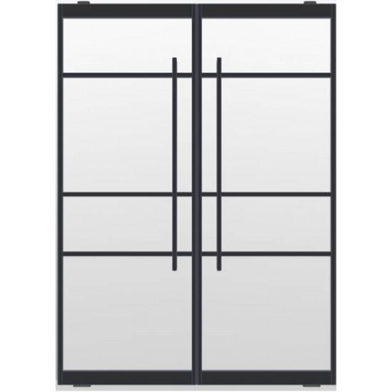 Industriële deurstel taats indu4a zwart