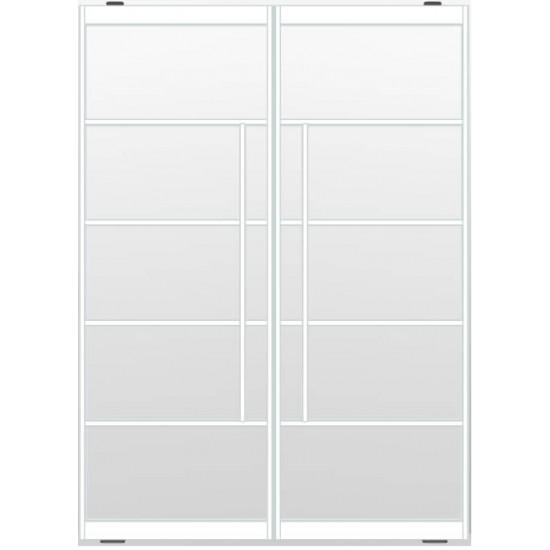 Industriële deurstel taats indu5 wit