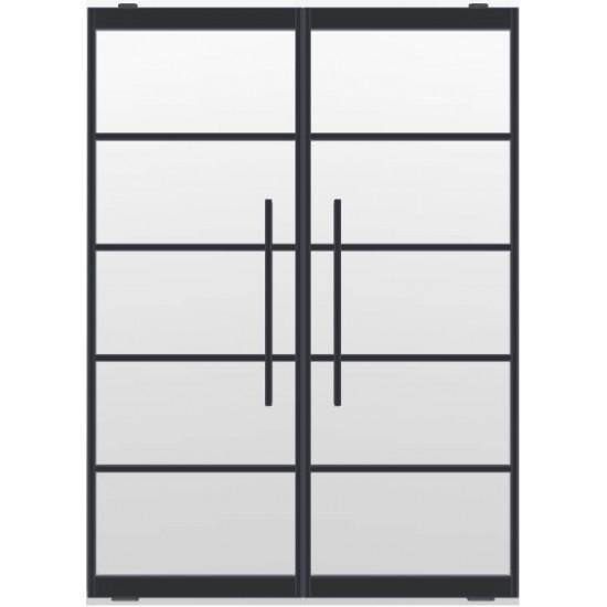 Industriële deurstel taats indu5 zwart