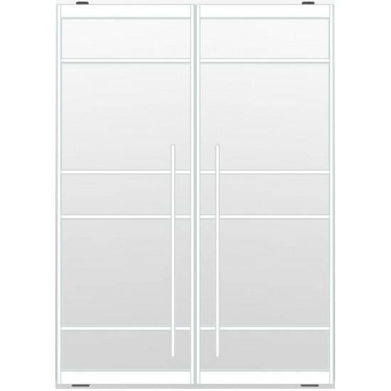 Industriële deurstel taats indu5a wit
