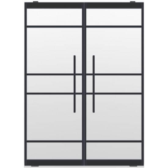Industriële deurstel taats indu5a zwart