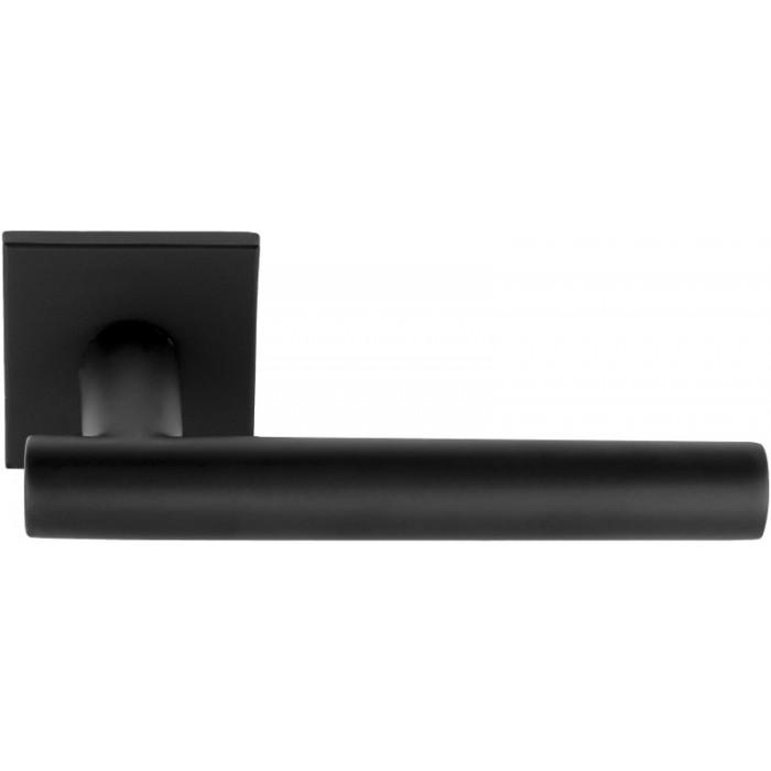 Poros zwart vierkant rozet