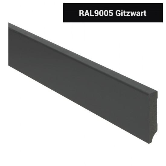 Plint modern 70x15 Voorgelakt RAL 9005