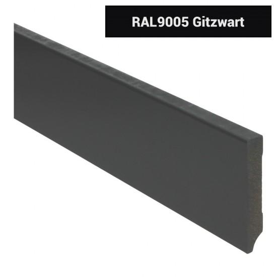 Plint modern 90x15 Voorgelakt RAL 9005