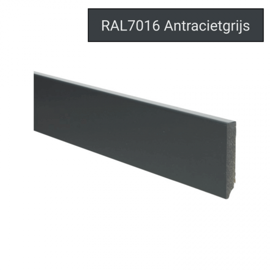 Plint modern 70x12 Voorgelakt RAL 7016
