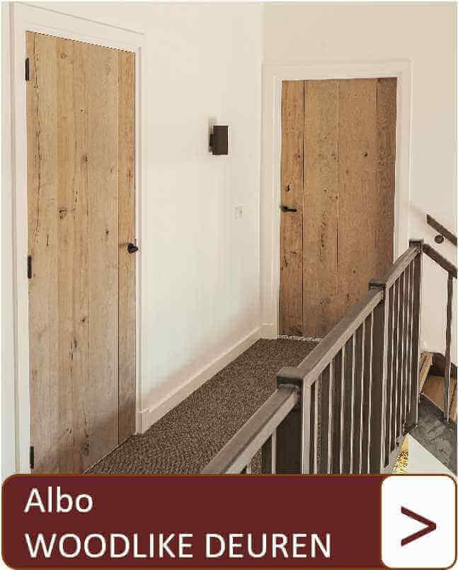 Albo woodlike deuren