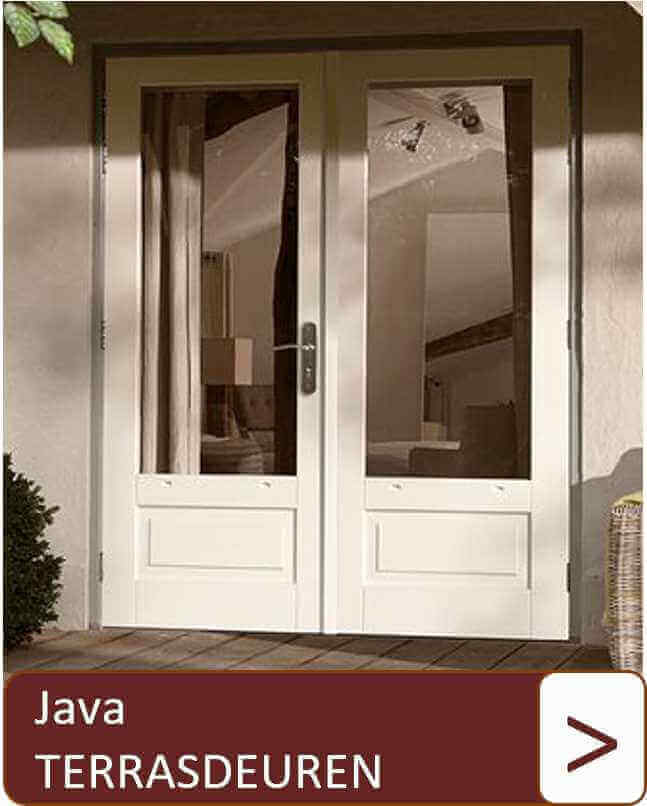 Java terrasdeuren
