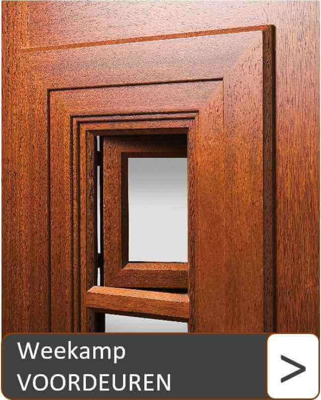 Weekamp voordeuren