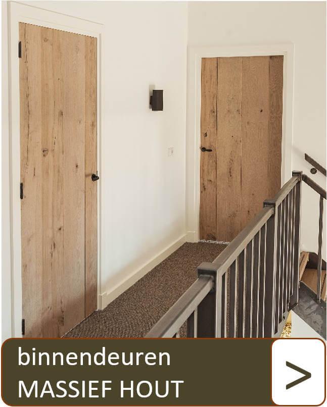 Binnendeuren massief hout