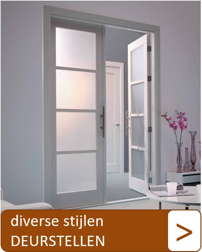 Diverse stijlen deurstellen
