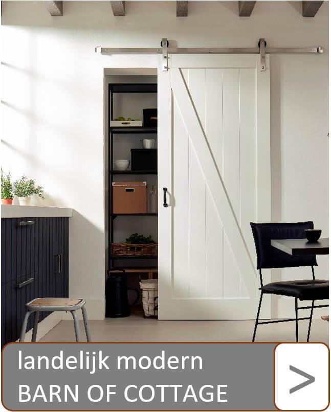 Landelijk modern barn of cottage