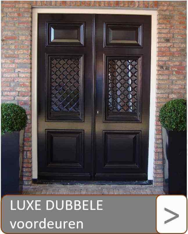 Luxe dubbele voordeuren
