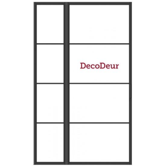 Stalen binnendeur met zijlicht DC-ST-0101