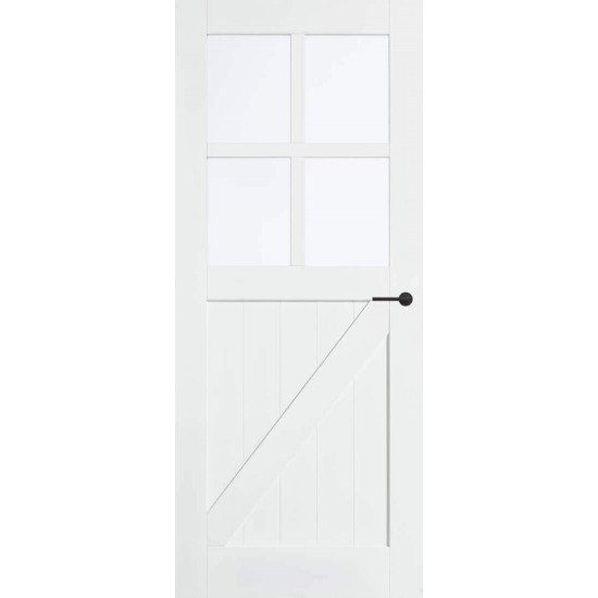 SKS 2517 links blank glas voorraad