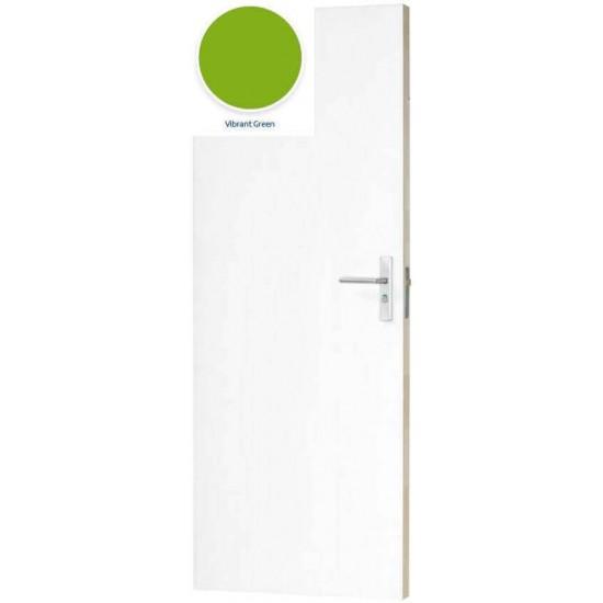 SKH 255 HPL Vibrant green maatwerk
