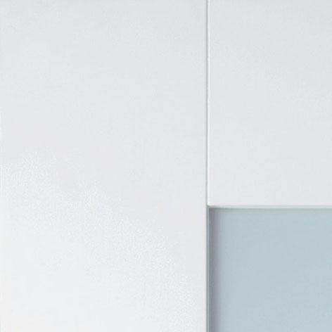 Detail deur met paneel Cube X