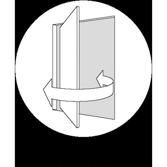 SSL 4205 rook glas taats of schuifdeur