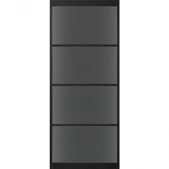 SSL 4104 rook glas taats of schuifdeur