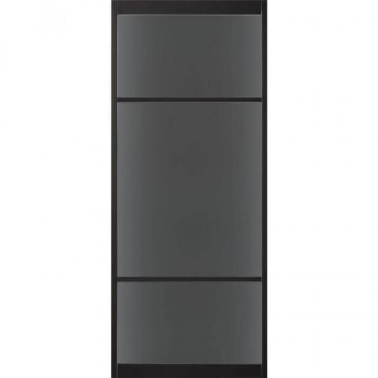 SSL 4106 rook glas taats of schuifdeur