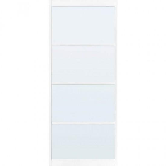 SSL 4204 blank glas taats of schuifdeur