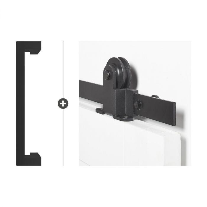 Tupelo 30 mat zwart ultra Foxtrot 550