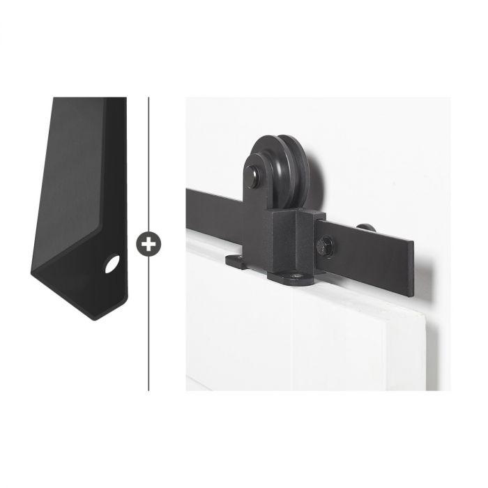 Vernal 50 mat zwart ultra Foxtrot 554