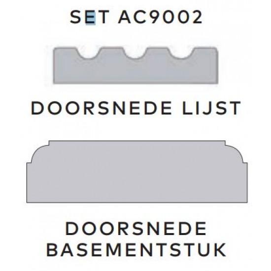 Aftimmerlijst AC9002