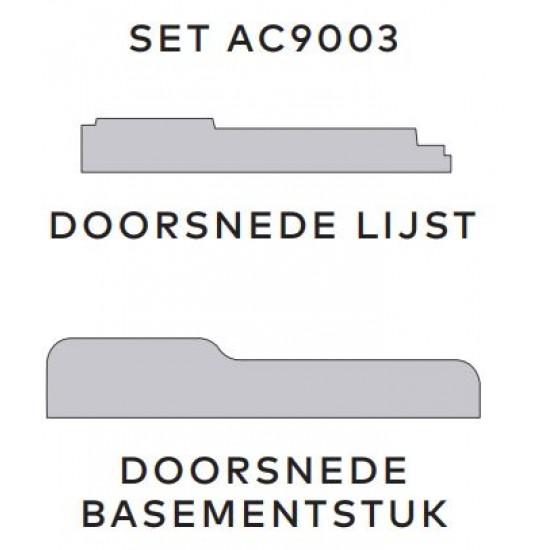 Aftimmerlijst AC9003