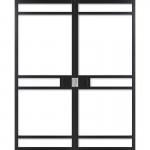 WK6332-C dubbel incl. blankglas maatwerk