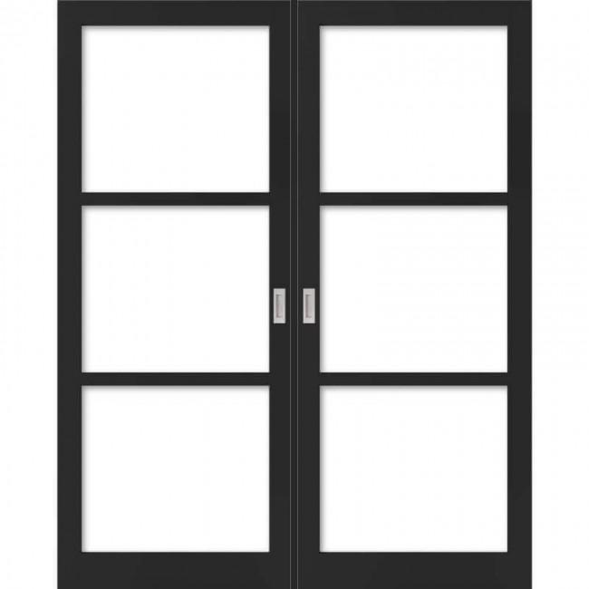 WK6356-C dubbel incl. blankglas maatwerk